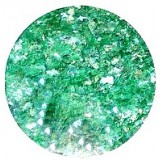 Ice glitter Green