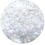 Ice glitter Valge