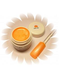 Metallic Orange värvigeel