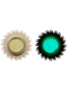 Läbipaistev-roheline helendav pigment