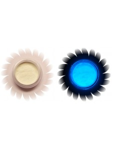 Läbipaistev - sinine helendav pigment