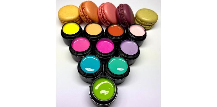 Makroon värvigeelid
