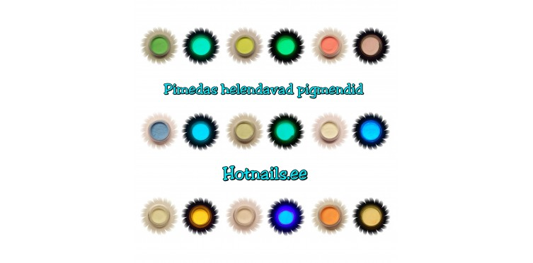 Helendav pigment