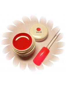 Värvimuutev geel Punane Roosaks