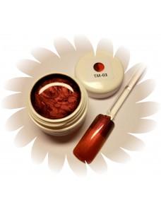 Värvimuutev Magic geel Punane/Oranz